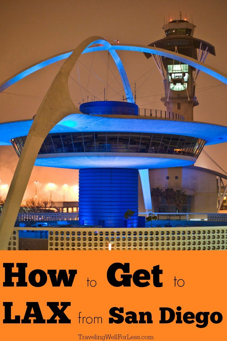 8 ways to get to LAX from San Diego | how to get to LAX from San Diego | how to get to San Diego from LAX | image courtesy of monkeytime via wiki, CC BY-SA 2.0 | TravelingWellForLess.com