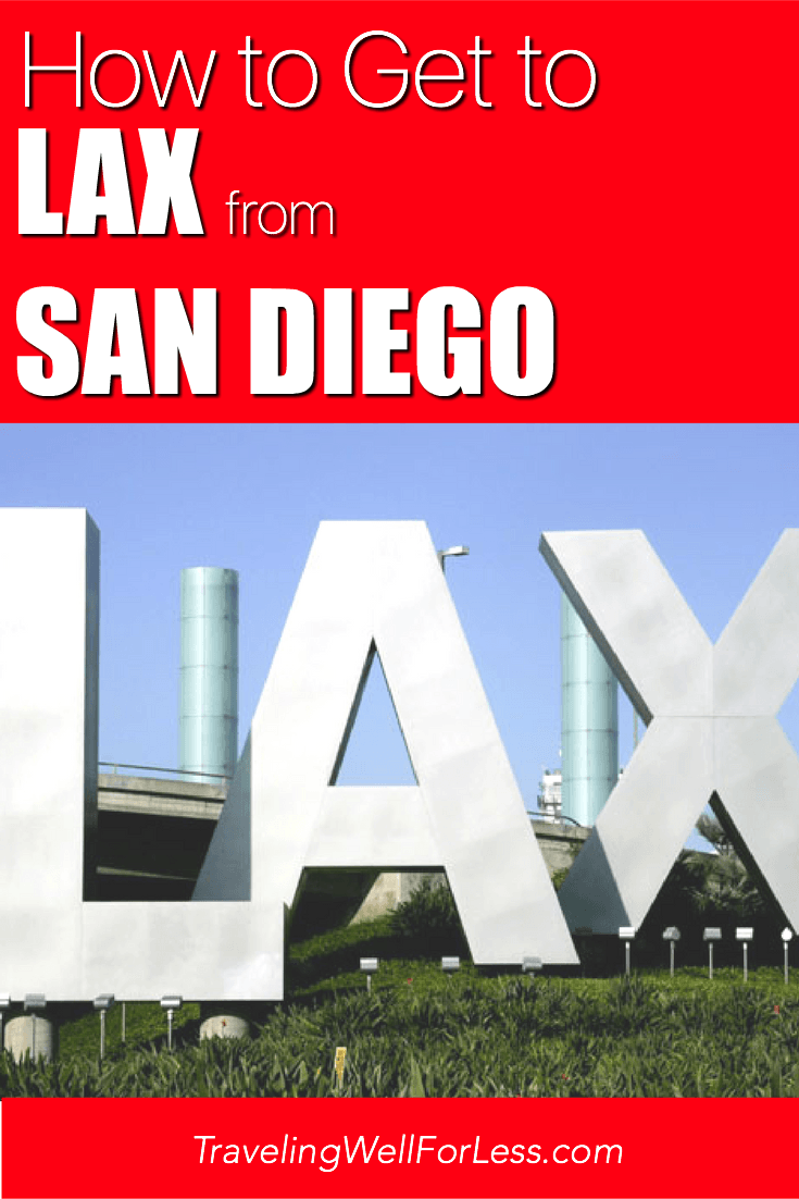 8 ways to get to LAX from San Diego | how to get to LAX from San Diego | how to get to San Diego from LAX | image courtesy of JadeLux via wiki, CC BY-SA 3.0 | TravelingWellForLess.com