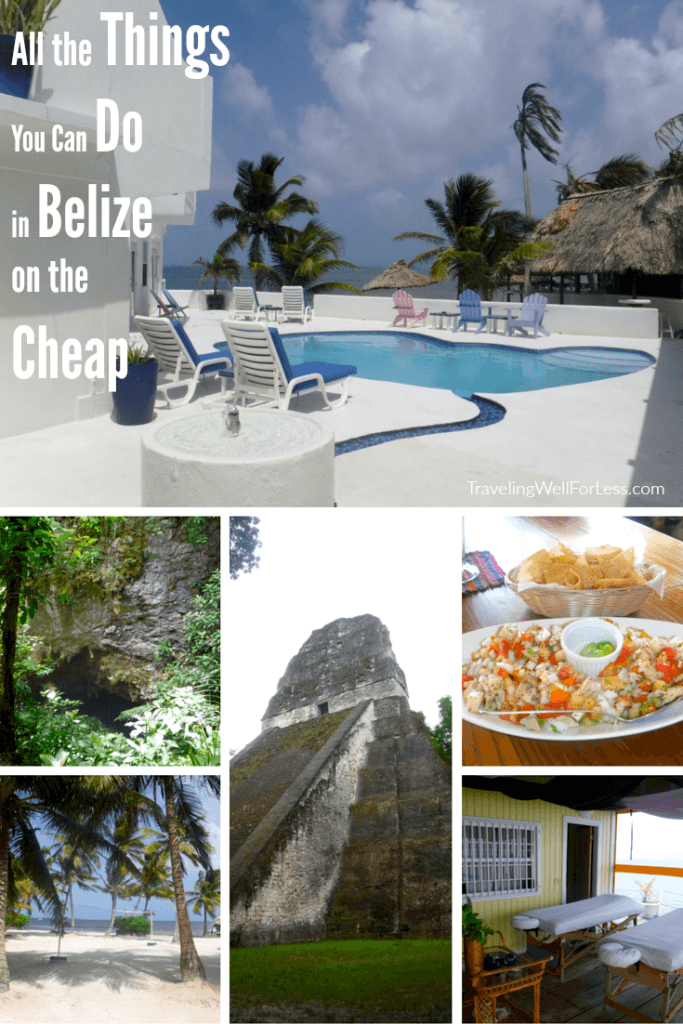 A Belize vacation doesn't have to be expensive. Travel expert Debra Schroeder shares all the things you can do in Belize on the cheap. TravelingWellForLess.com