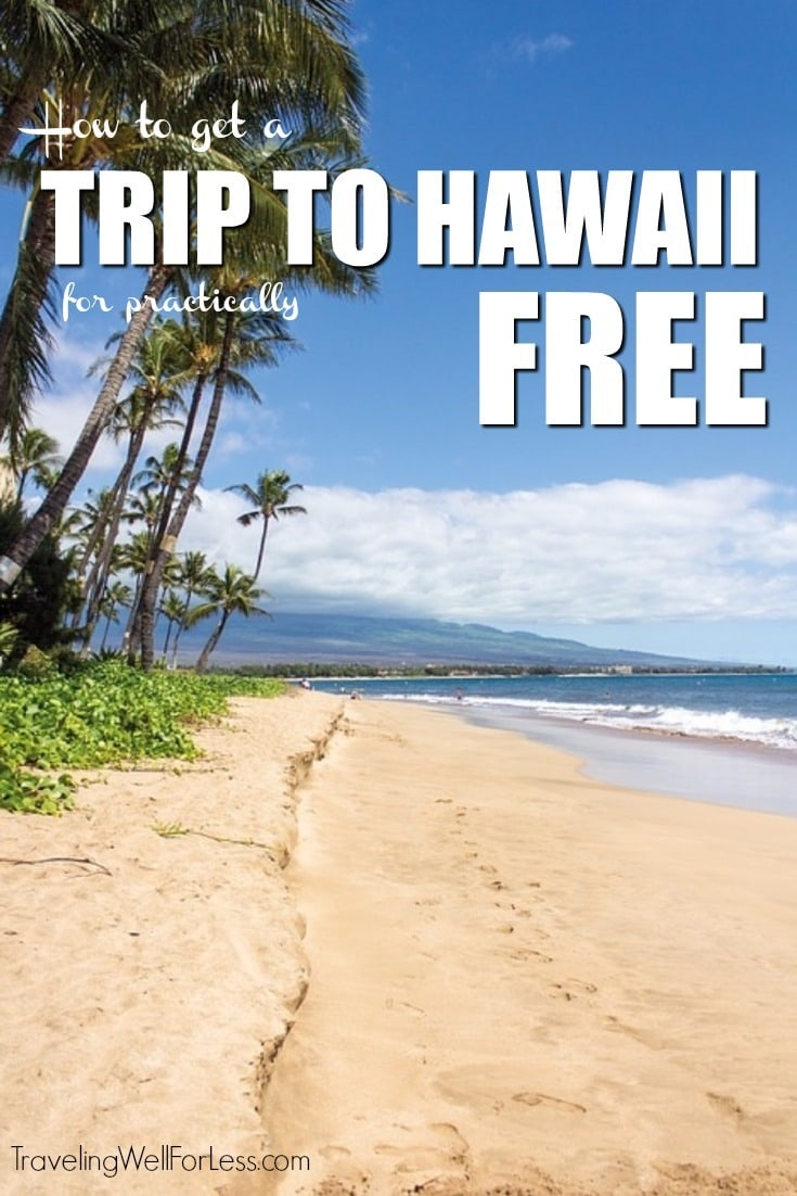 How to fly free to Hawaii and stay in a beachfront hotel for 8 days for $5.60. | Hawaii | Kauai | travel hacking | miles and points | photo credit: Pixabay | https://www.traveling Well For Less #hawaii #travelhack #travelforfree #travelhacking