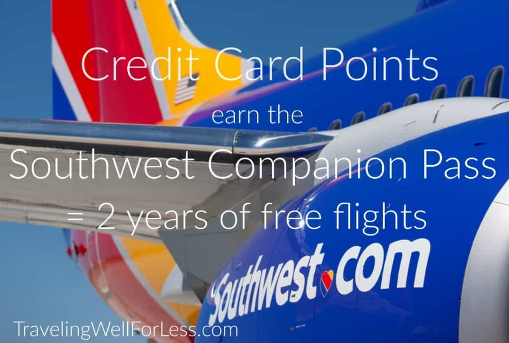 A quick way to earn 110,000 Southwest points in a calendar year for the Southwest Companion Pass is through credit card sign-up bonuses. Traveling Well For Less