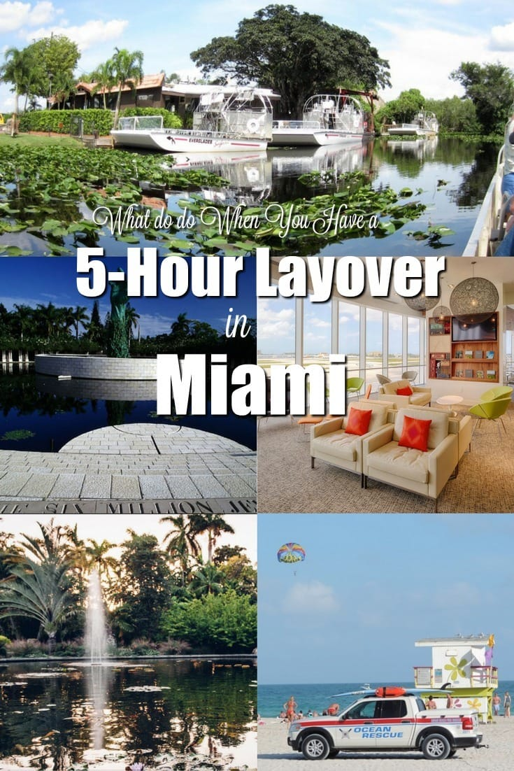 Got a stop in Miami? Here's how to make the most of your layover. Even if you only have 5 hours in Miami. | what to do in Miami | what to do on a 5-hour layover in Miami | travel hacks | TravelingWellForLess.com