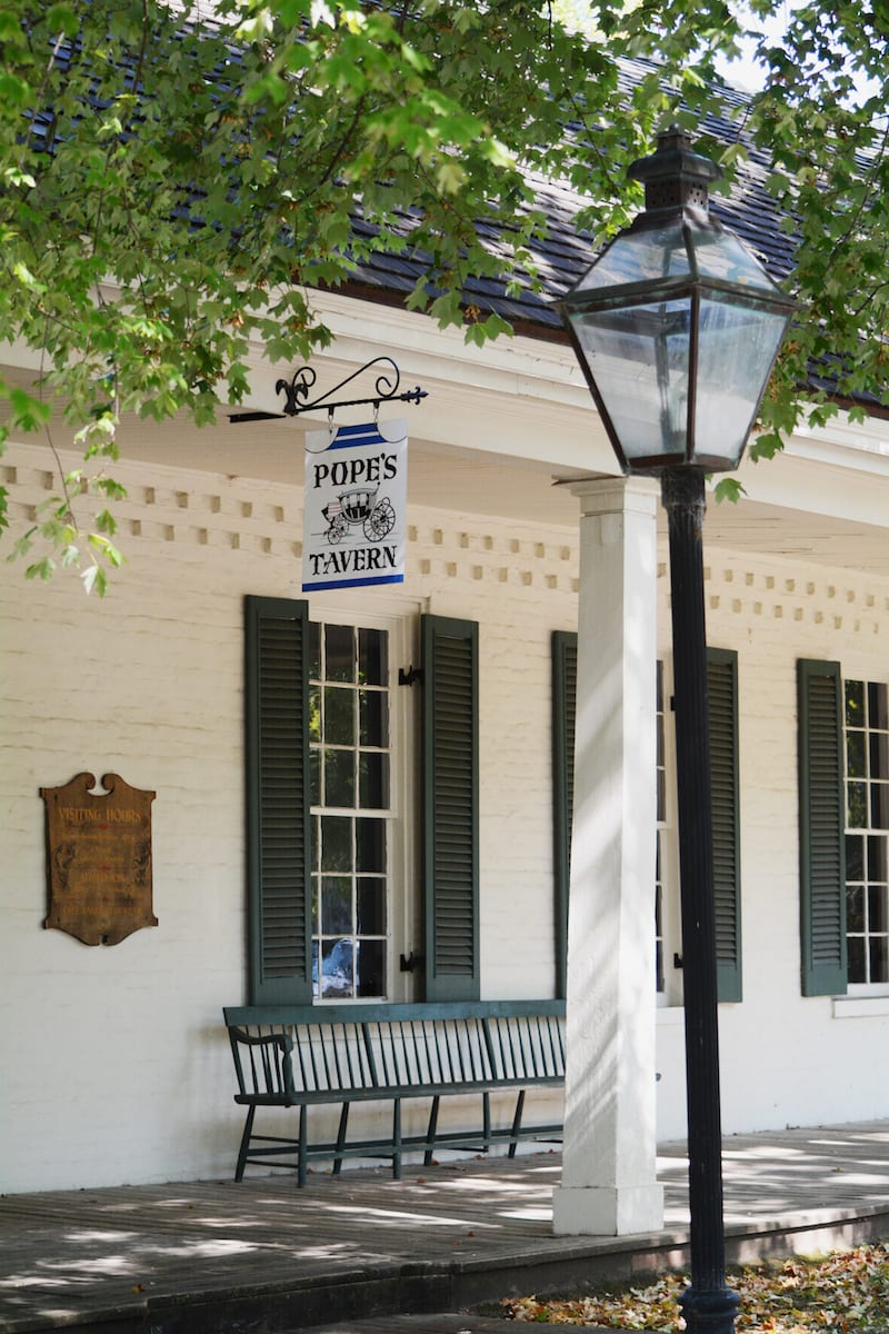 Pope's Tavern and Museum, formerly a stagecoach stop and a hospital for both Union and Confederate soldiers during the Civil War, is one of Florence, Alabama's oldest buildings. | 25 reasons to visit Florence, Alabama. | Photo courtesy: VisitFlorenceAl.com | TravelingWellForLess.com