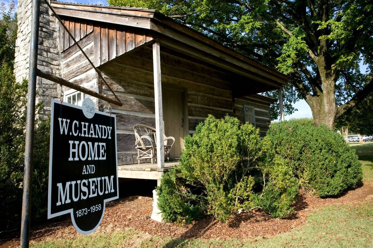 """Considered the """"Father of the Blues"""", W.C. Handy (William Christopher Handy) was born in Florence, Alabama. 