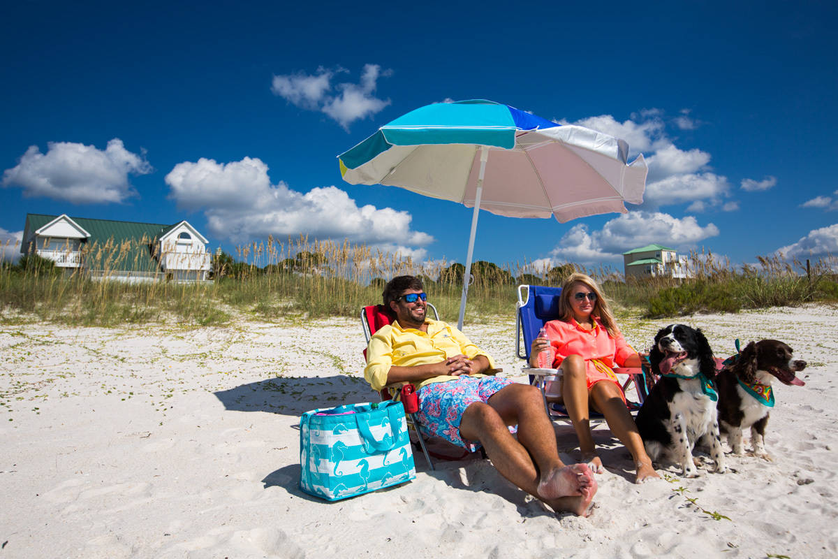 Port St Joe & Gulf County Florida beaches are family and pet friendly. #ad #GCFLnofilter