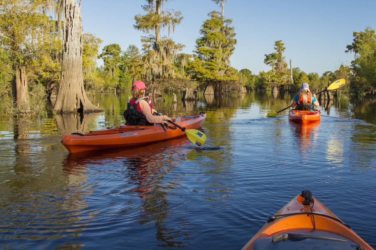 Kayak the waterways in Gulf County Florida and Port St. Joe. #ad #GCFLnofilter