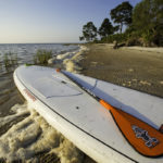 43 miles of beach means lots of areas to Paddleboard in Gulf County Florida