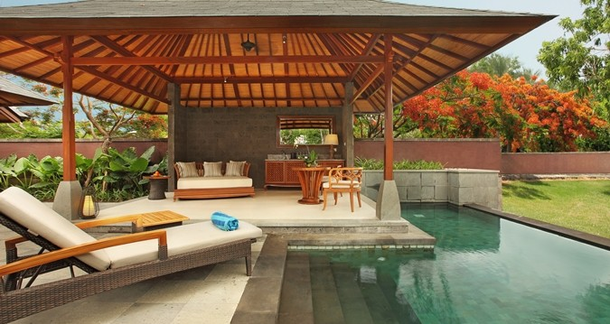 You can stay 2 nights free at the Hilton Bali Resort using the points from the Hilton Honor Surpass signup bonus. | travel hacks | credit card bonus | TravelingWellForLess.com