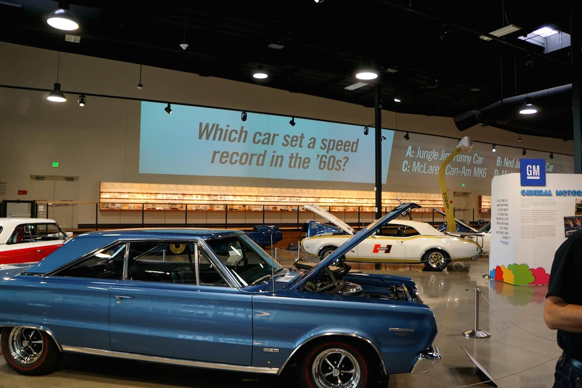 Spend time at the World of Speed Museum. You'll find everything from race cars, motorcycles, to boats. | Things to do in the Tualatin Valley | What to do in Portland | museum | TravelingWellForLess.com