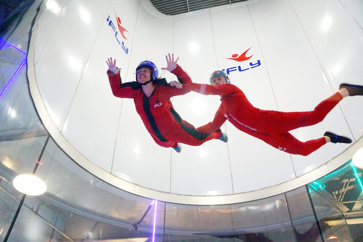 Indoor skydiving: the thrill of skydiving without the risk. | Things to do in Tualatin Valley | Things to do in Willamette Valley | Things to do in Portland | TravelingWellForLess.com
