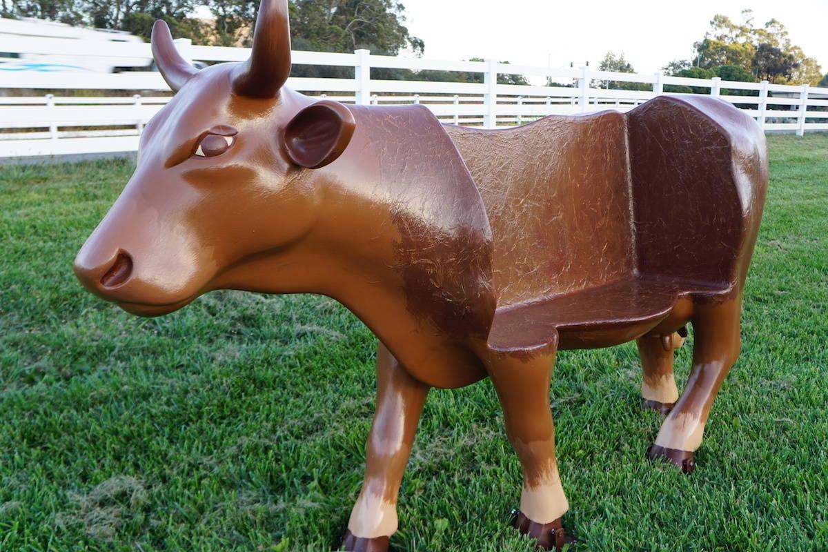 Cowch cow. CowParadeSLO.