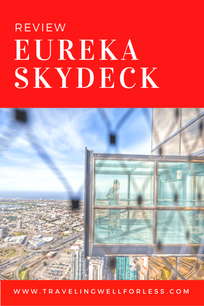 Are the best views in Melbourne worth being trapped in a glass box 984 feet above the ground? Read this review of Eureka Skydeck and the Edge and find out. TravelingWellForLess.com