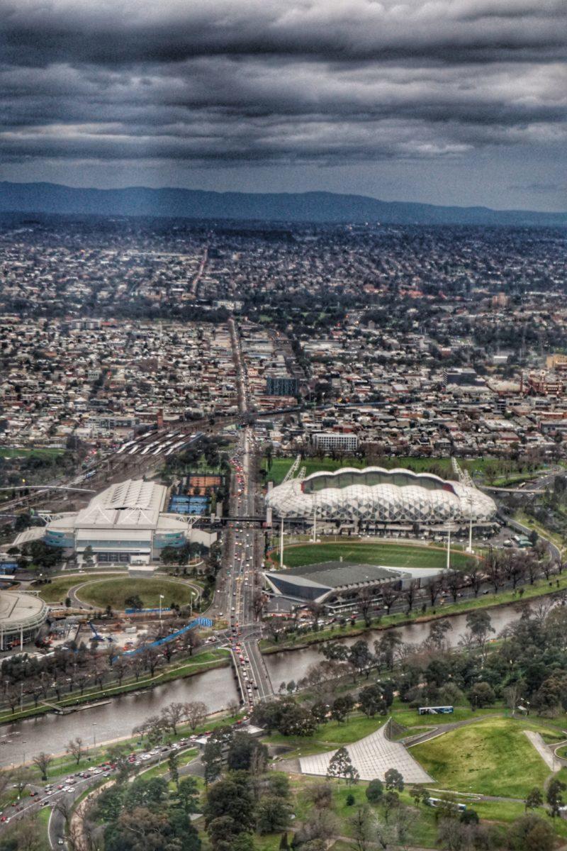 Rod Laver Arena and Melbourne Rectangular Arena (AAMI). TravelingWellForLess.com
