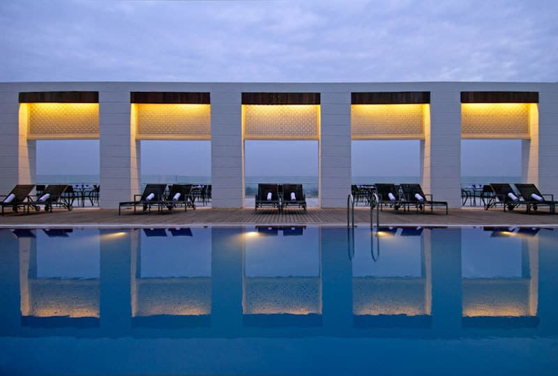With 35,000 points, you can get 11 nights for free at hotels like the Four Points Sheraton Agra in India | travel tips | travel hacks | TravelingWellForLess.com