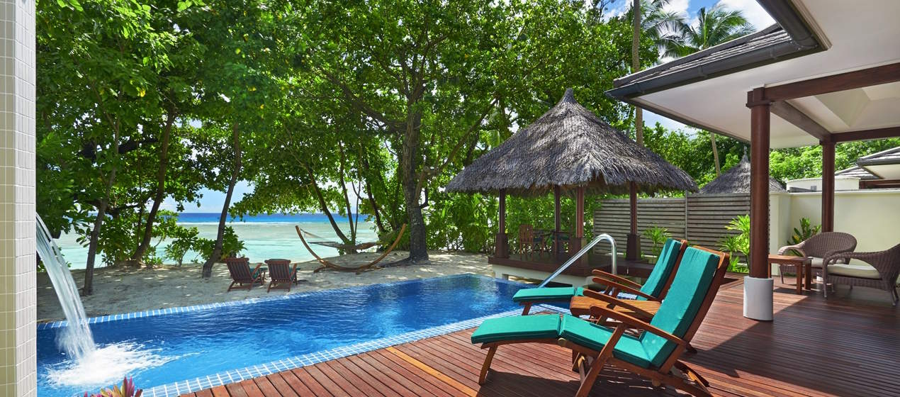 You can get 100,000 Hilton points from the Hilton Honors Surpass card. These points can be used to stay at any Hilton hotel in the world, including the Hilton Seychelles Labriz Resort & Spa.