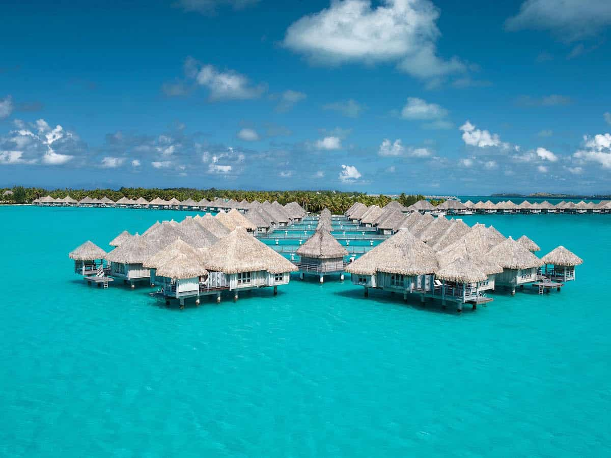 You can use Starpoints to stay for free at hotels like the St. Regis Bora Bora | travel tips | travel hacks | TravelingWellForLess.com
