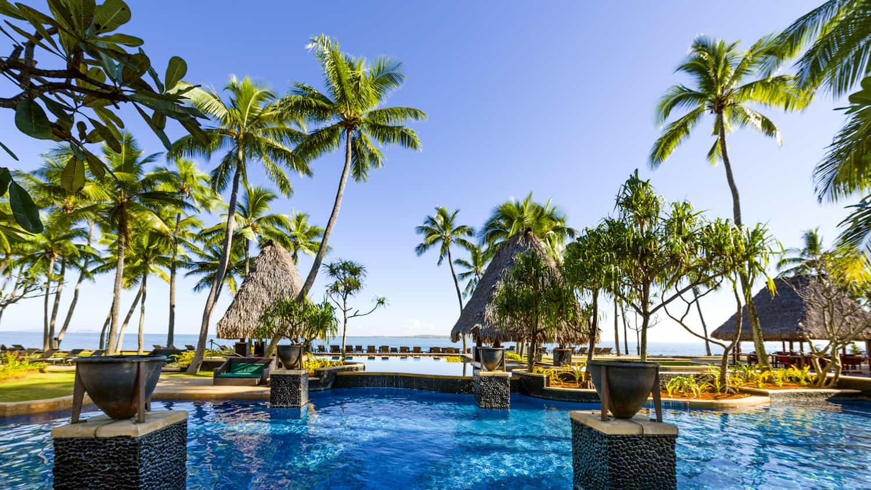 You can get 3 free nights at a Category 4 hotel like the Westin Denarau Island in Fiji | travel tips | travel hacks | TravelingWellForLess.com