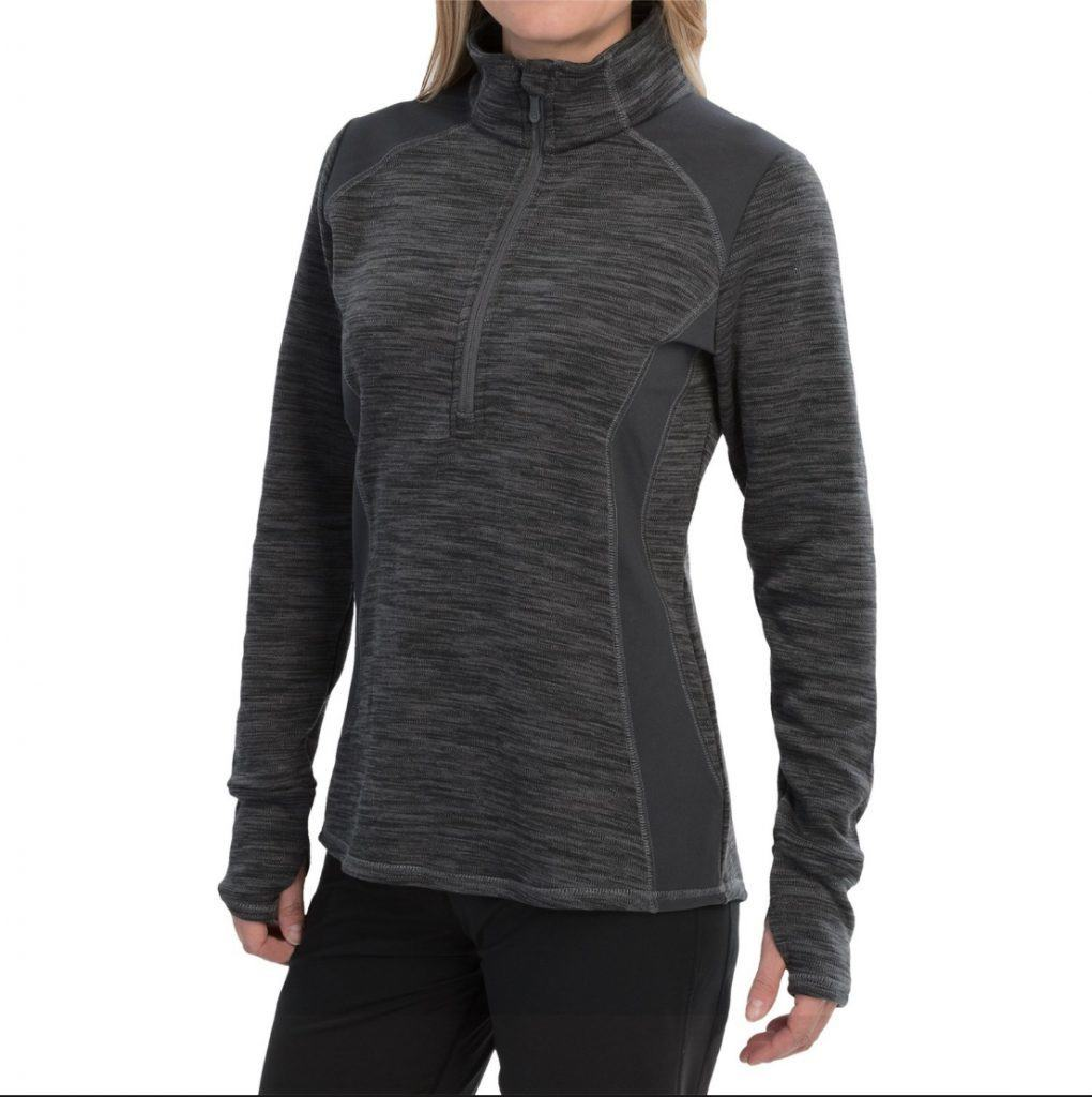 Wear the Avalanche Wear Twist Shirt - Zip Neck as a light coverup, jacket, or use it for a base layer