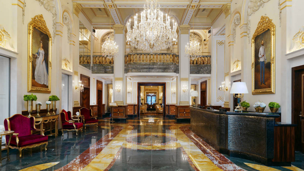 Hotel Imperial Wien, luxury Vienna hotel, top hotel Vienna, employed Adolf Hitler, https://www.travelingwellforless.com