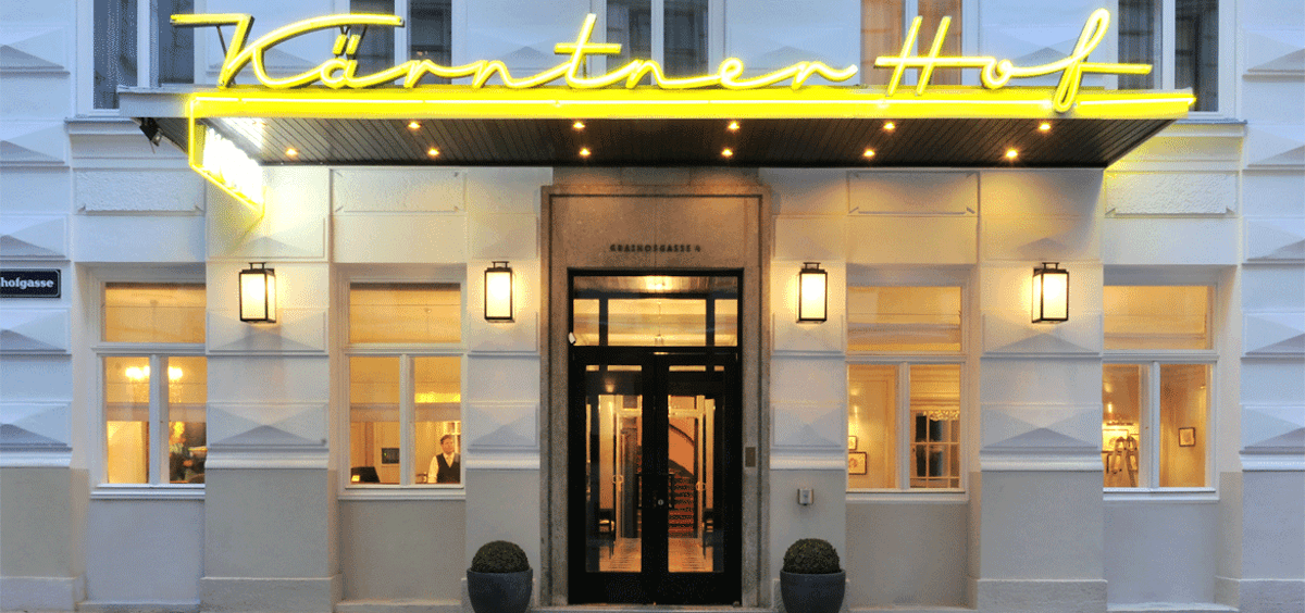 Hotel Karntnerhof, top hotel Vienna, St. Stephen's Cathedral, former brothel, https://www.travelingwellforless.com