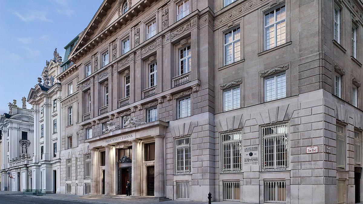 Park Hyatt Vienna, top hotels Vienna, luxury hotels Vienna, swim in a bank vault, http://www.travelingwellforless.com