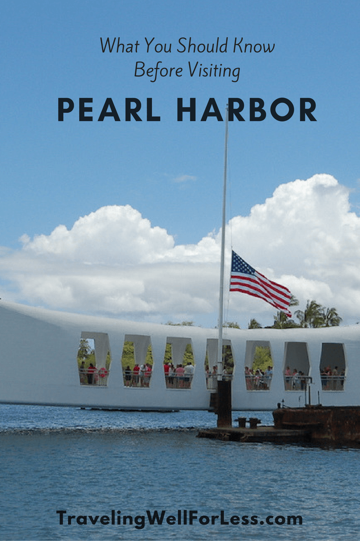 Planning a visit to the USS Arizona Memorial Pearl Harbor? These 7 tips will prepare you for what you should know before visiting Pearl Harbor. https://www.travelingwellforless.com
