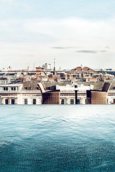 Grand Ferdinand Vienna, luxury Vienna hotel, former spy headquarters, https://www.travelingwellforless.com