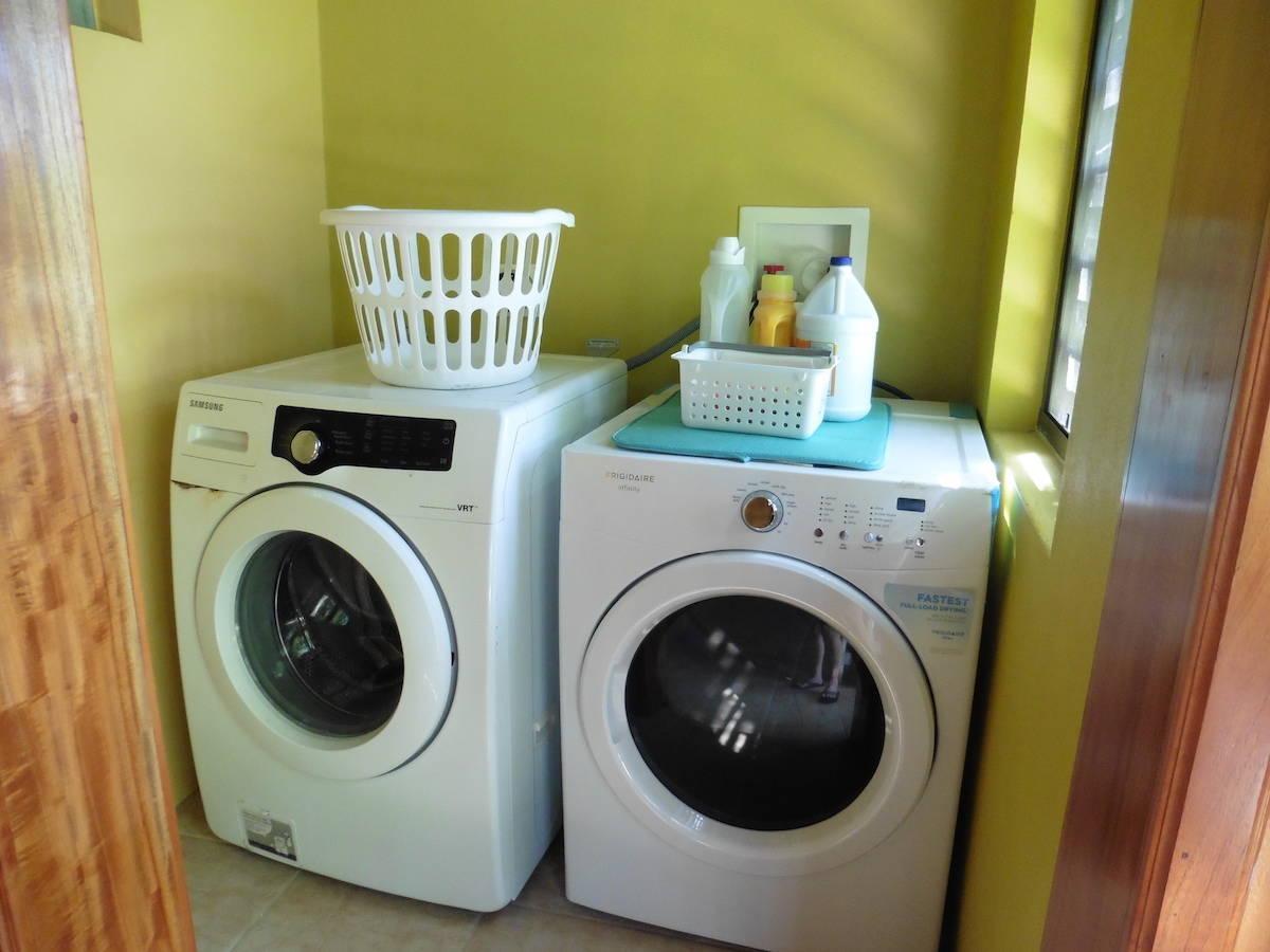 Washer and Dryer, Aliana's San Ignacio, Belize | Airbnb | Central America