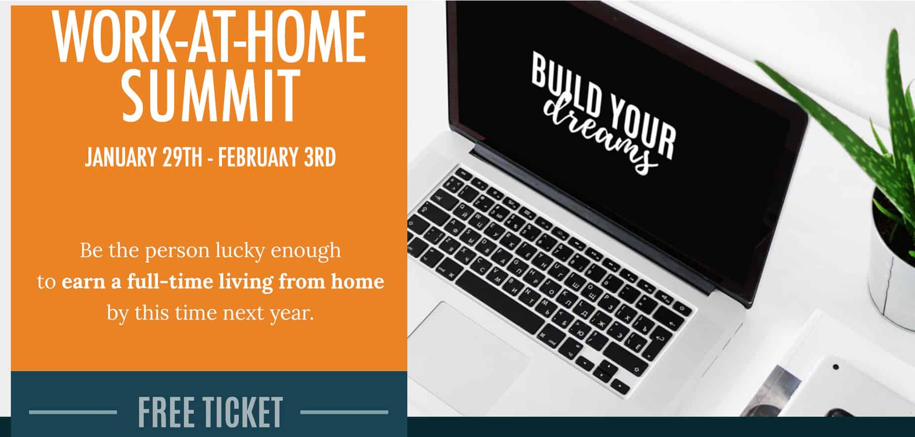 Want to learn the secrets to working from home? From January 29, 2018 to February 3, 2018, you'll learn from Caitlin and 45 other experts on how you can work from home this year. | work at home | www.travelingwellforless.com