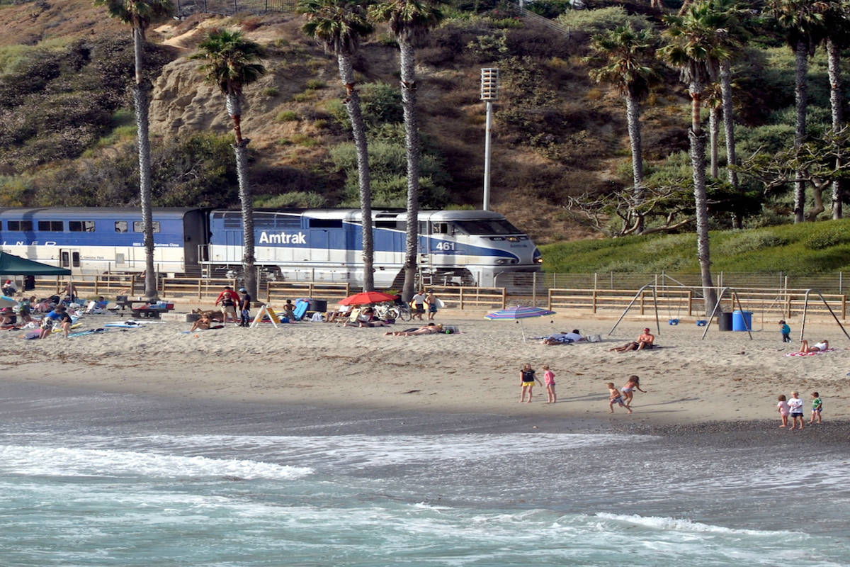 Get to LAX from San Diego on Amtrak via the Pacific Surfliner. Traveling Well For Less