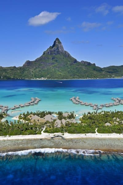 You can buy hotel points if you're short on points for a free night. Buy IHG points and get a 100% bonus. Stay at hotels like the InterContinental Bora Bora Resort & Thalasso Spa. Traveling Well For Less. Photo Courtesy of InterContinental Bora Bora Resort & Thalasso Spa. | travel hacks | TravelingWellForLess.com