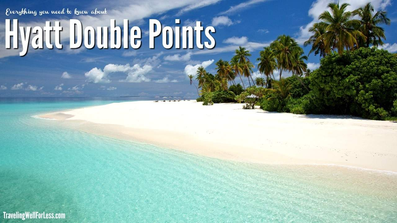 You can earn Hyatt double points on stays from April 1, 2017 to June 30, 2017 at all Hyatt hotels worldwide, like the Park Hyatt Maldives. TravelingWellForLess.com