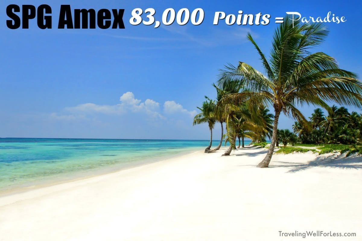 Big bonuses on the SPG Amex cards don't come around that often. But for a limited time you can earn up to 83,000 points. | travel rewards cards | travel hacking | TravelingWellForLess.com