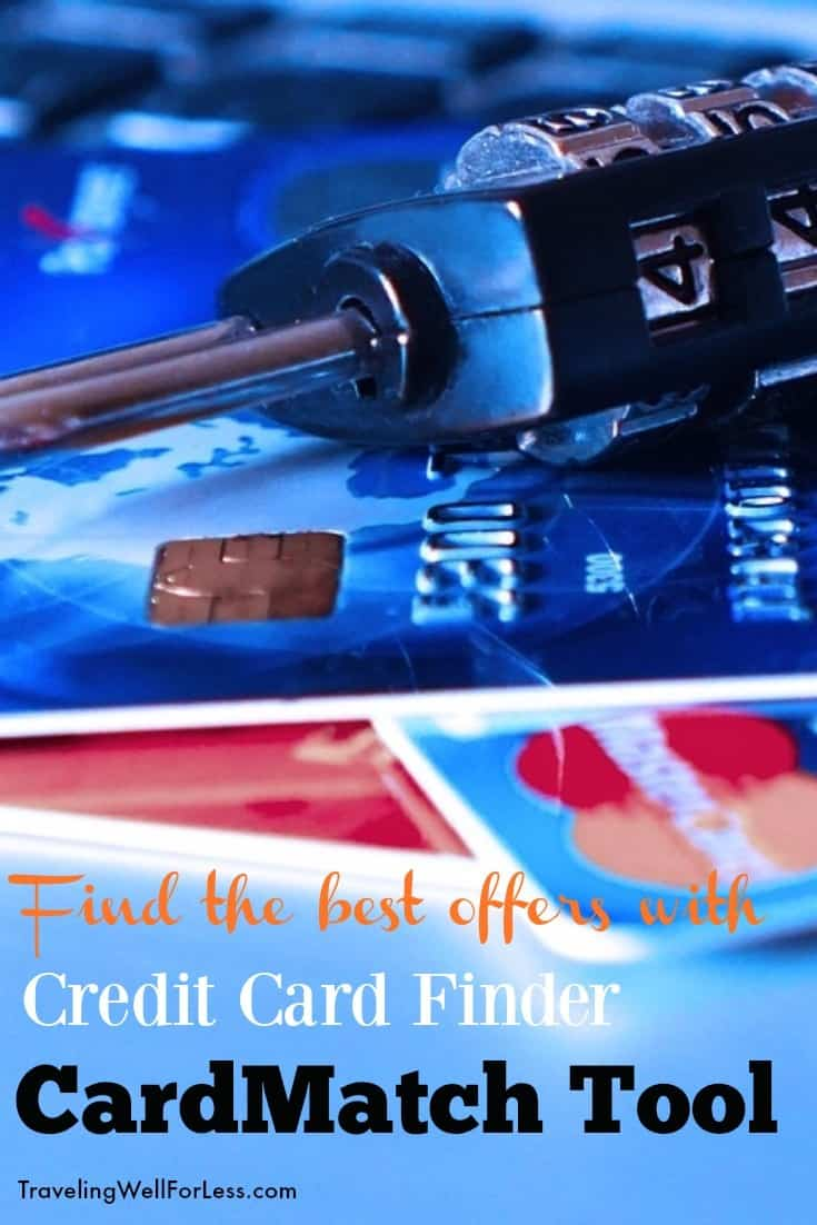 What you need to know about the credit card finder, CardMatch tool and how to use it. | travel hacking | credit cards | personal finance | free travel| Traveling Well For Less