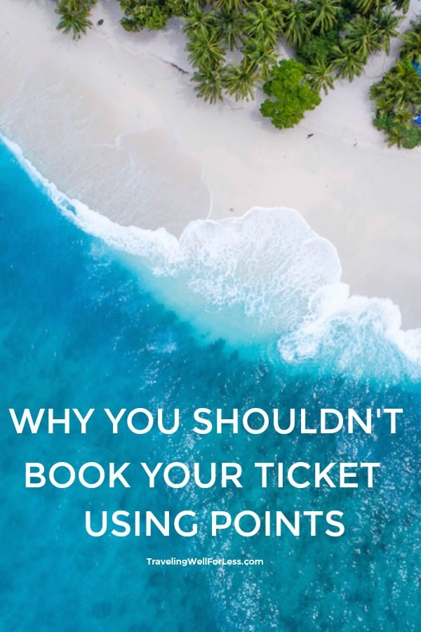 When you have a card with flexible points like the Citi ThankYou card or American Express Platinum card, you can use those points to book travel. There are lots of great benefits to booking through a portal, but there's also a downfall. Keep reading to find out why you shouldn't book your ticket using Thankyou points or other travel portal. | why you shouldn't book ticket using ThankYou points | traveltips | travelhacks | https://www.travelingwellforless.com #travelhack #traveltips #travel #milesandpoints