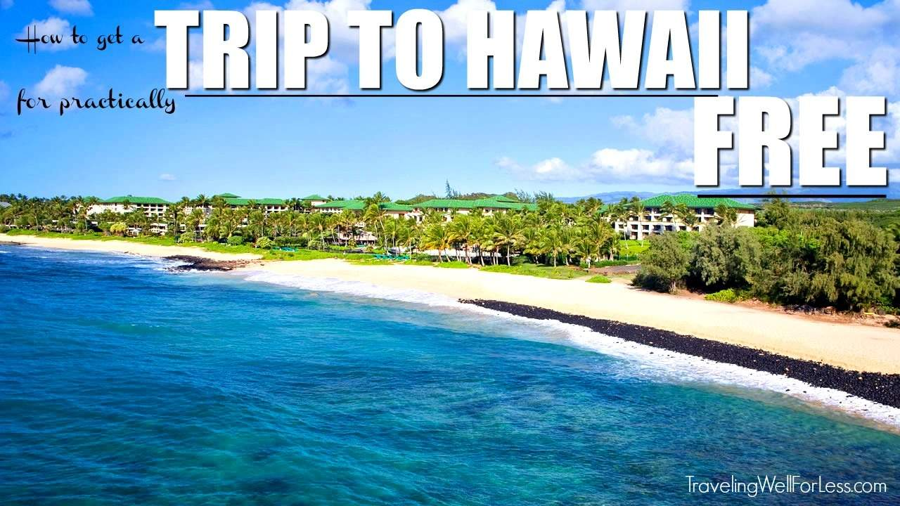 Travel hack a trip to Hawaii. Fly for free and stay for free using airline miles and credit card points. | travel hacking | TravelingWellForLess.com