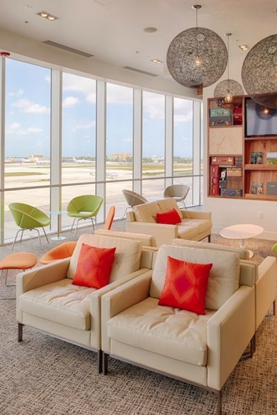 Get a free massage, facial or manicure at the Centurion Lounge at the Miami Airport during your layover. | what to do on a layover at the Miami Airport | TravelingWellForLess.com