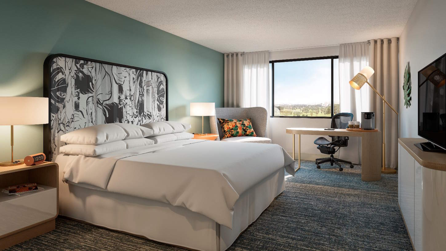 You can freshen up, shower, or take a nap when you book a day room during a layover at the Miami Airport. | what to do on a layover in Miami what to do in Miami | TravelingWellForLess.com