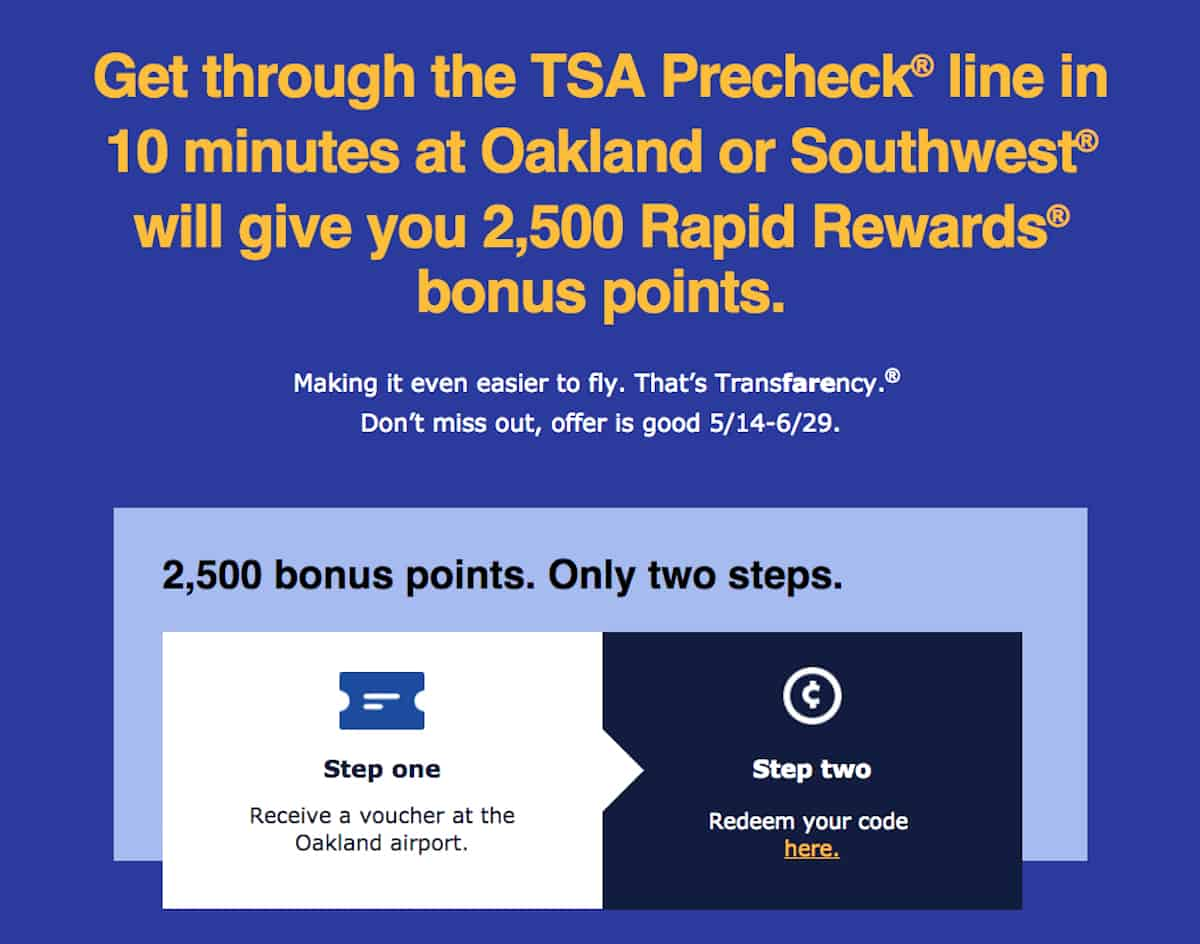 Planning a summer vacation or fall trip? Here's how to get 2,500 Southwest points every 10 minutes.