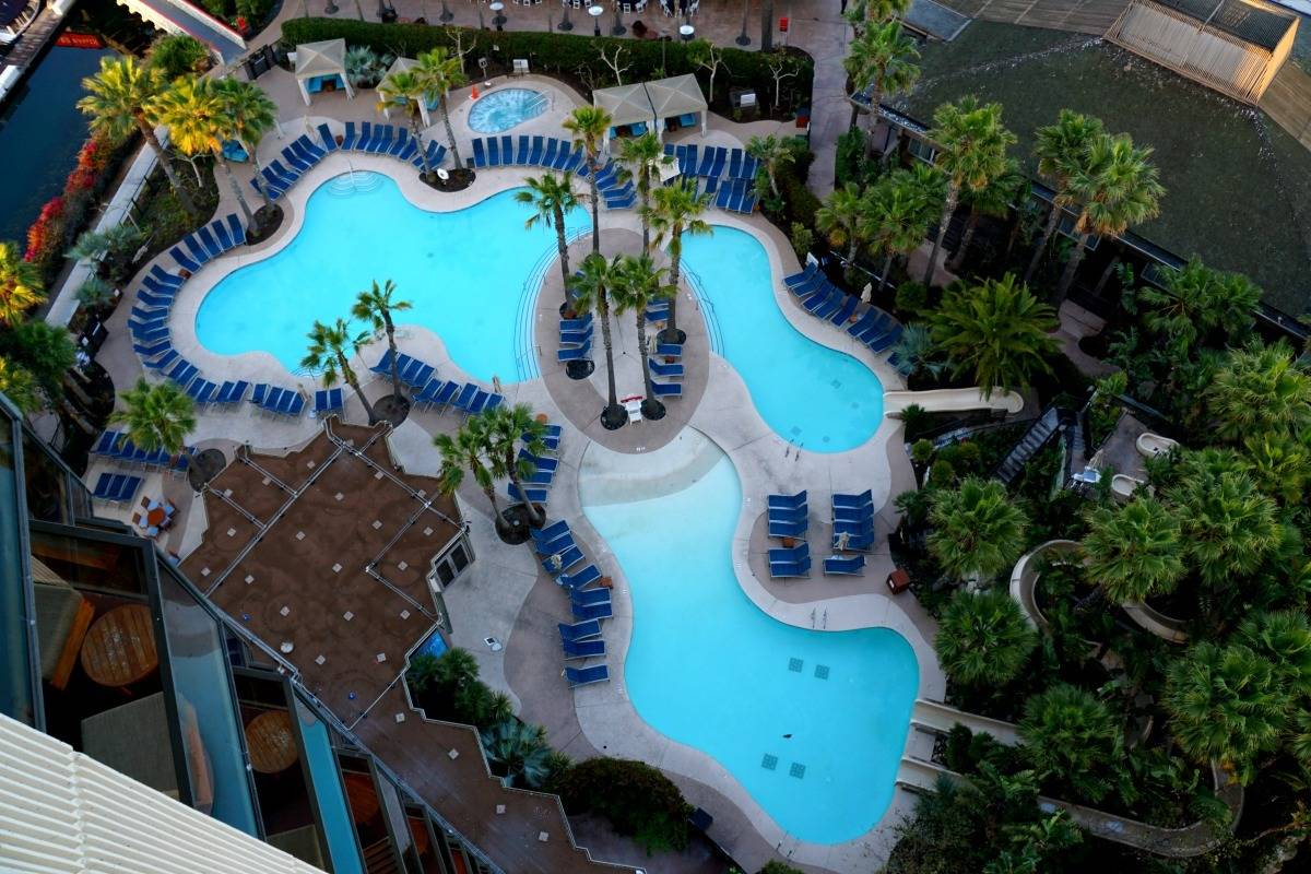 San Diego Waterfront Hotel Secluded Paradise for the Value Oriented