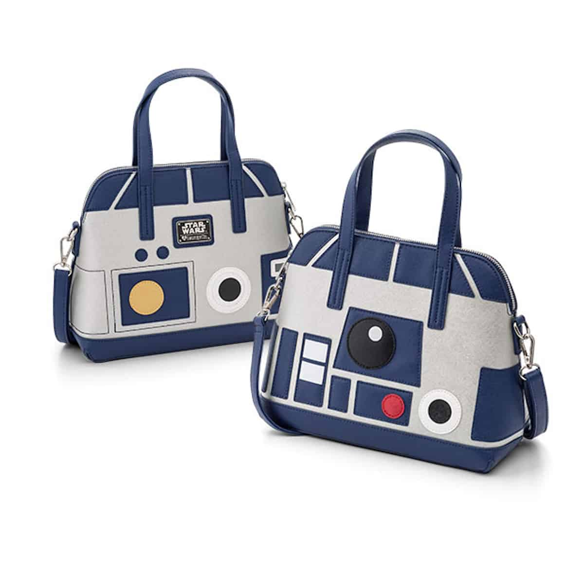 What geeky mom wouldn't love this adorable purse? The Star Wars R2-D2 Faux Leather Convertible Pursehas hand straps and a removable shoulder strap.  travel gifts for Mother's Day   https://www.travelingwellforless.com #travelgifts #mothersdaygifts