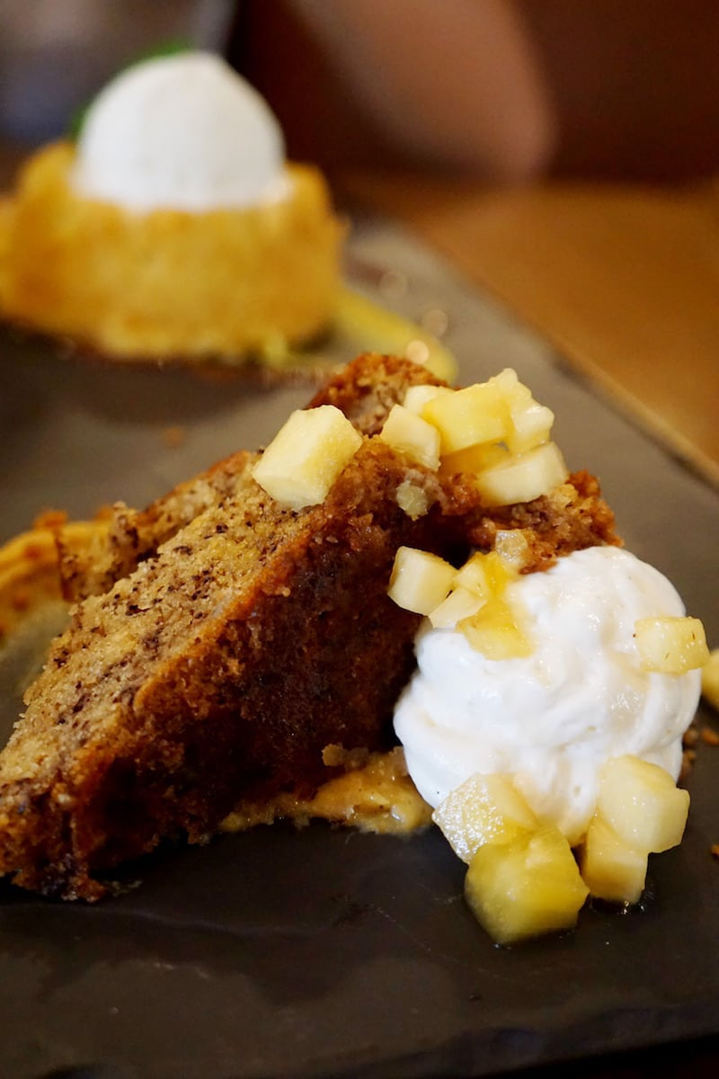 Plantain Cake | Rick Bayless | Red O La Jolla | Where to eat in San Diego | Mexican restaurant | TravelingWellForLess.com