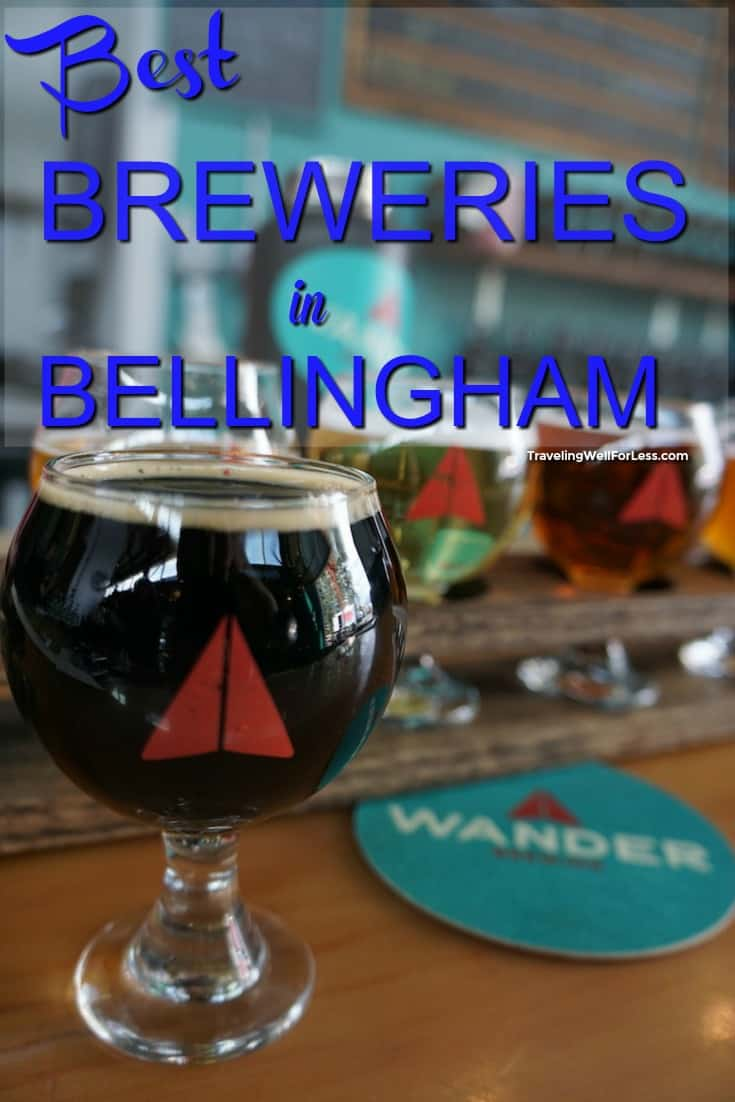 Planning a visit to Whatcom county and looking for the best breweries in Bellingham? These 5 breweries brew the best craft beer. #craftbeer #beer #brewery #Bellingham #Washington
