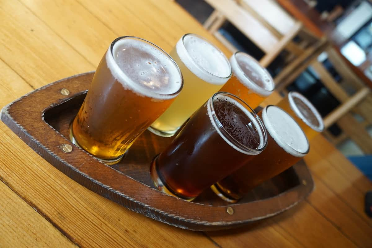 A visit to Boundary Bay Brewing is a destination in itself. They have a tap room, brewtique, restaurant, and a dog-friendly beer garden. #craftbeer #beer #brewery #Bellingham #Washington