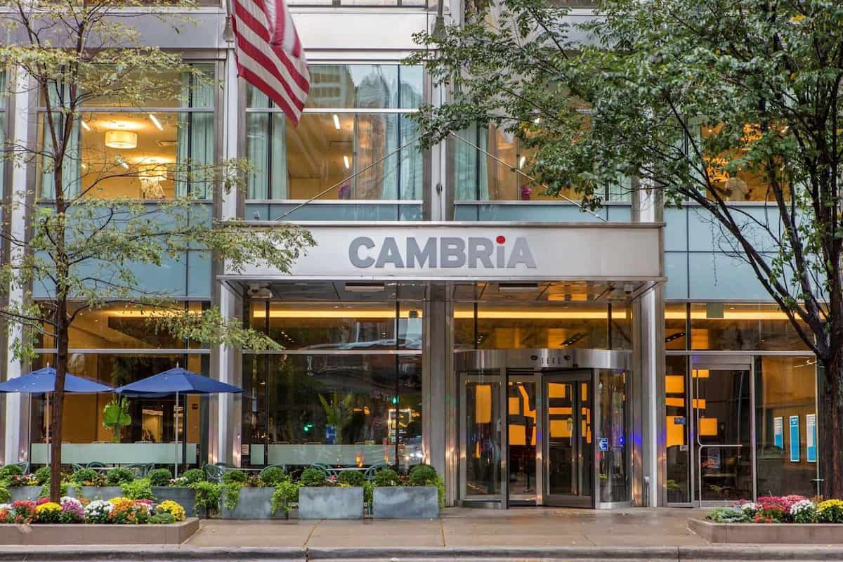 The evening of Black Friday at the Cambria Hotel Chicago Magnificent Mile costs $265. Or 16,000 points.