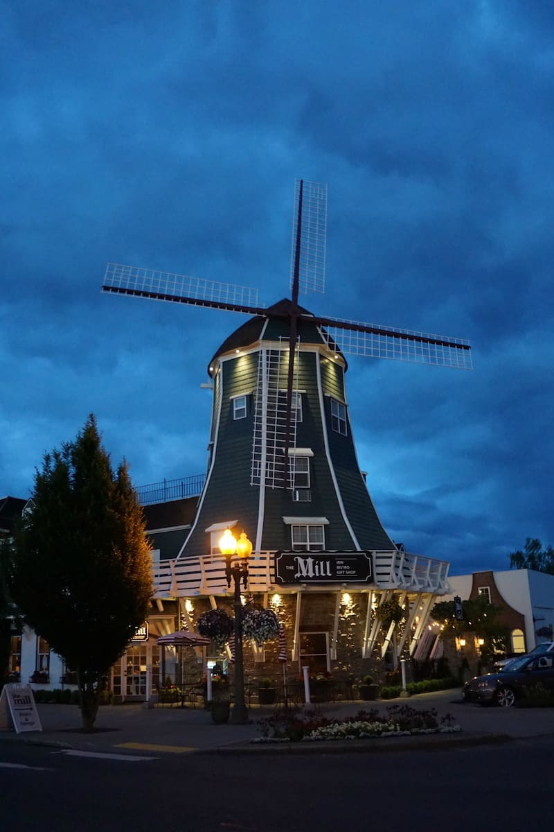 Ever wanted to sleep in a windmill? The Mill Inn is the only North American windmill that you can sleep in. A night at the Mill Inn is an experience you'll never forget. #lynden #washington #travel #hotel https://www.travelingwellforless.com