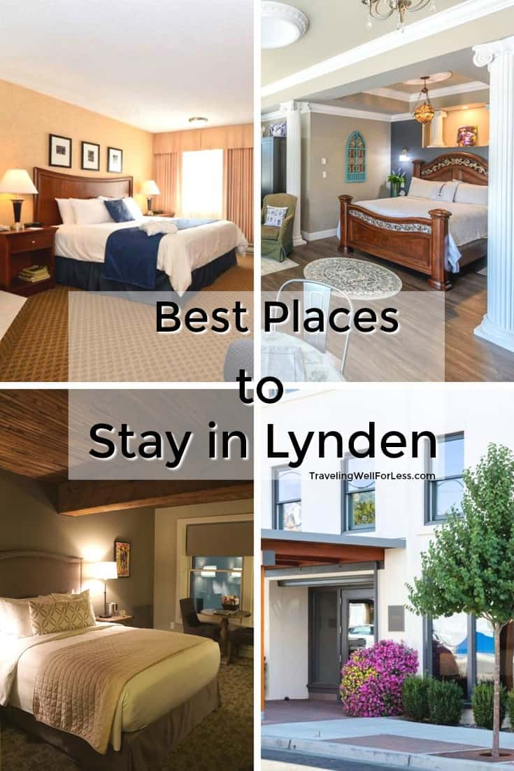 Looking for where to stay in Lynden? From luxury inns, chain hotels, to a motel, there's lodging for every budget in this Dutch-inspired town. #lynden #washington #travel #hotel https://www.travelingwellforless.com