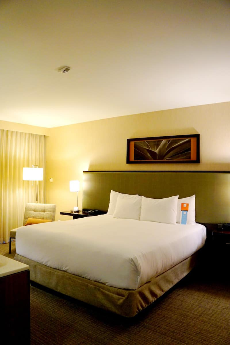 In Scottsdale, I stayed at the Hyatt Regency Scottsdale Resort & Spa and got a free upgrade to a Fountain Court suite.
