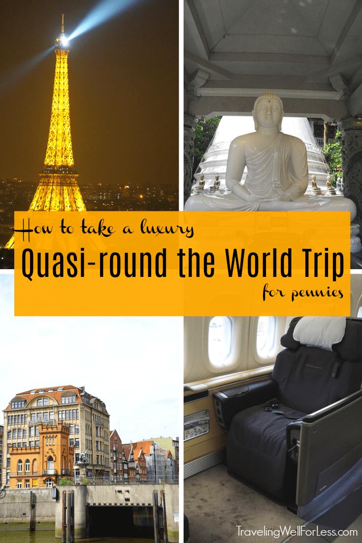 A Quasi Round The World Trip