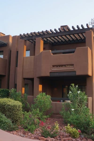 If you're looking for a hotel with one of the best views in Sedona, consider the Hyatt Residence Club Sedona Pinon Pointe.